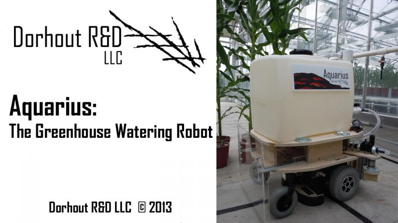 Aquarius the Greenhouse watering robot